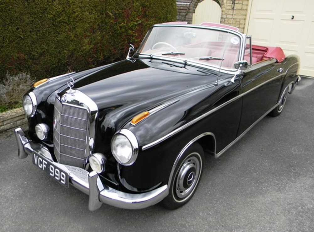 1958 mercedes benz 220s classic sports car auctioneers for 1958 mercedes benz 220s for sale
