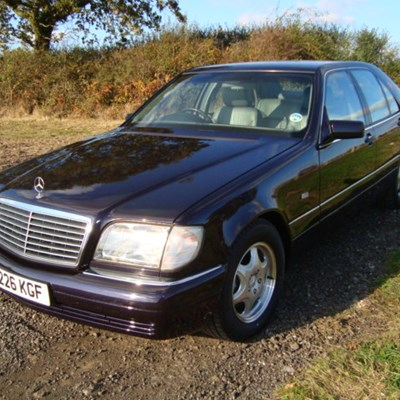 1997 mercedes benz s280 classic sports car auctioneers for Mercedes benz s280 for sale