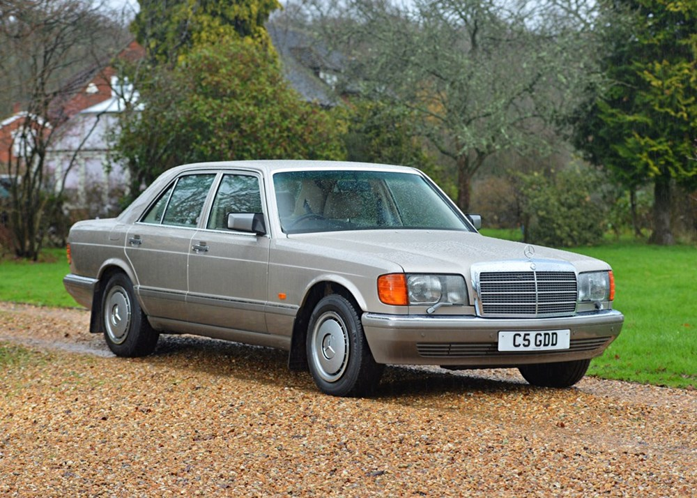 Lot 205 - 1990 Mercedes-Benz 300 SE Saloon