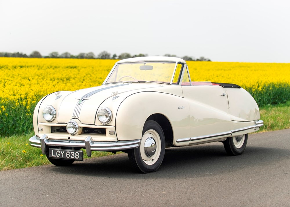 Lot 219 - 1950 Austin Atlantic Convertible