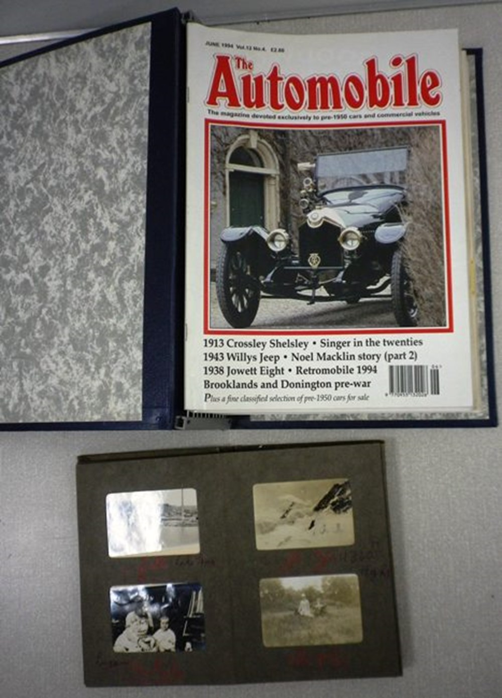 Lot 3 - Early motor engineering books
