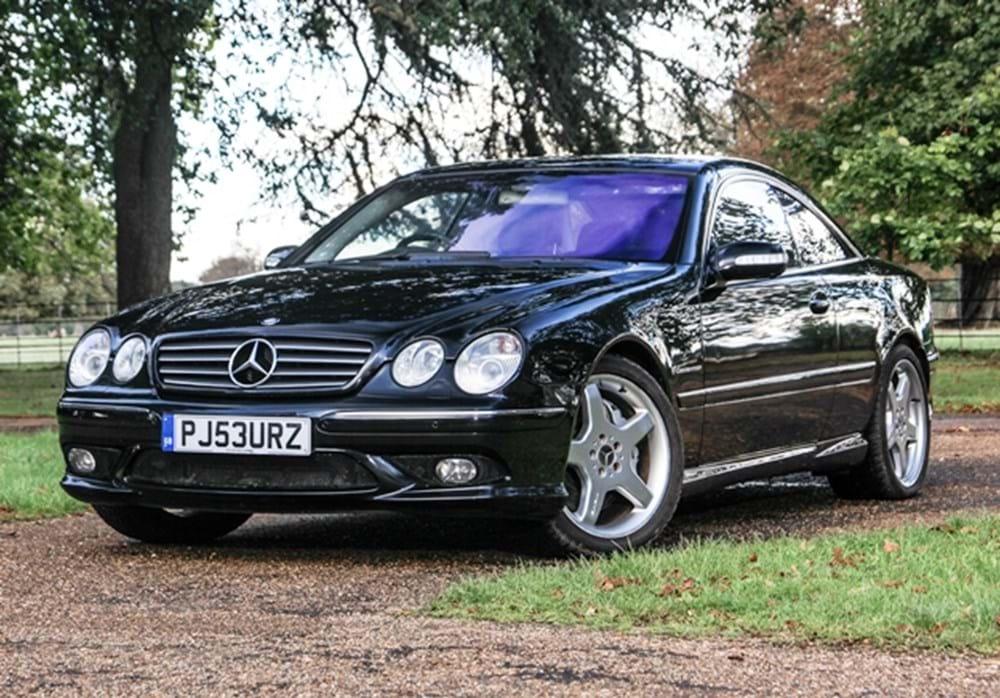 Ref 24 2004 mercedes benz cl55k amg for Mercedes benz for sale uk