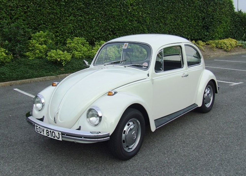 Lot 205 - 1971 13105 Beetle 1300