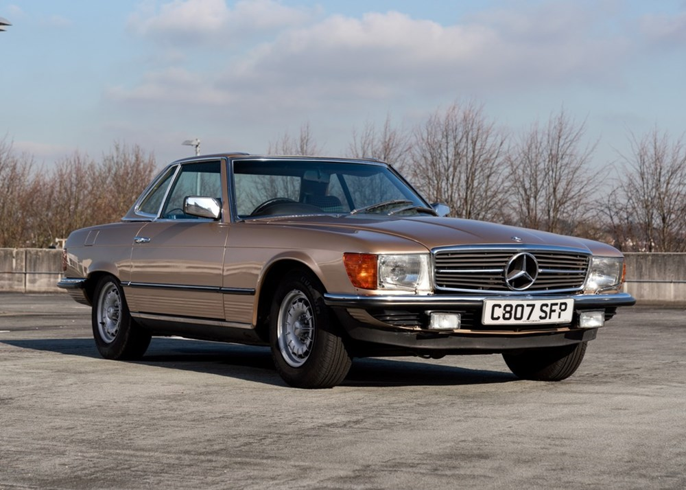 Lot 286 - 1985 Mercedes-Benz 380 SL Roadster