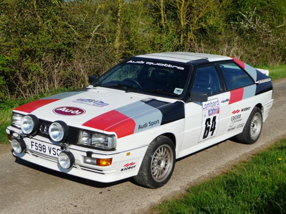 Lot 283 - 1988 12850 1988 Audi Quattro MB Turbo