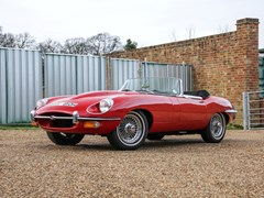 Navigate to Lot 222 - 1970 Jaguar E-Type Series II Roadster (4.2 litre)