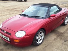 Navigate to Lot 276 - 1998 MG F