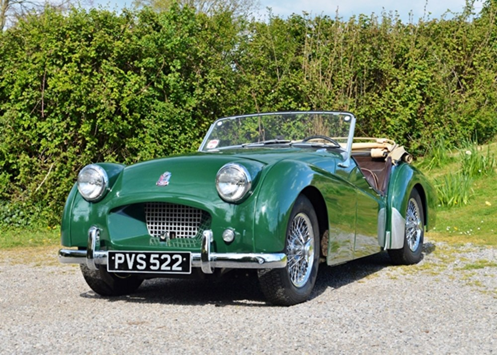 Lot 153 - 1954 Triumph TR2 'Long door'