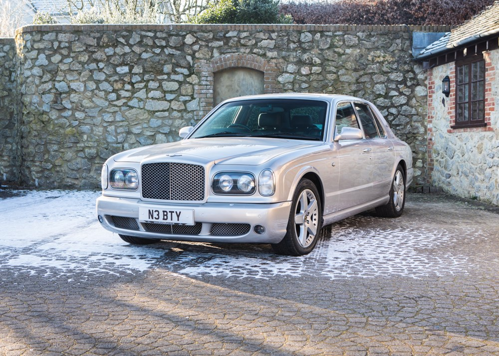 Lot 188 - 2002 Bentley Arnage T
