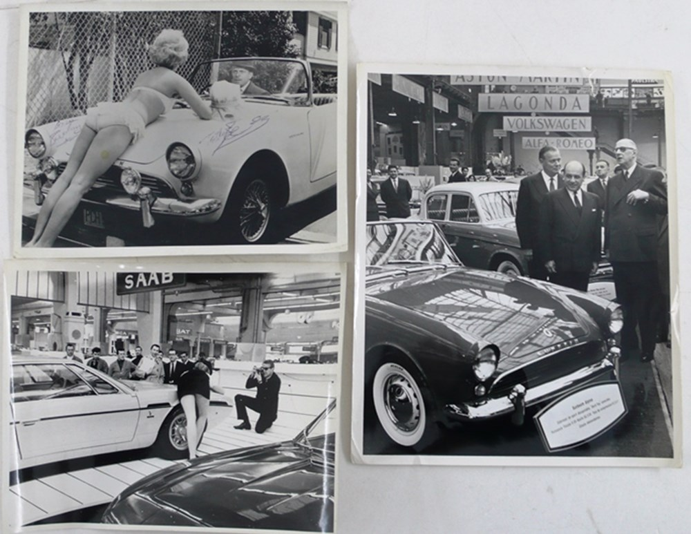 Lot 034 - Motoring photographs