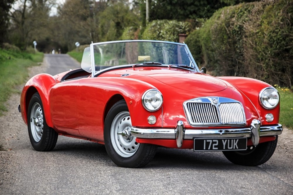 Lot 308 - 1959 MG A Roadster (Twin Cam)