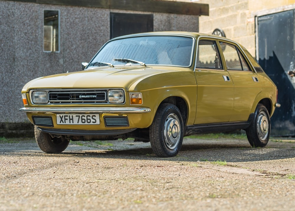 Lot 268 - 1978 Austin Allegro 1100 DL