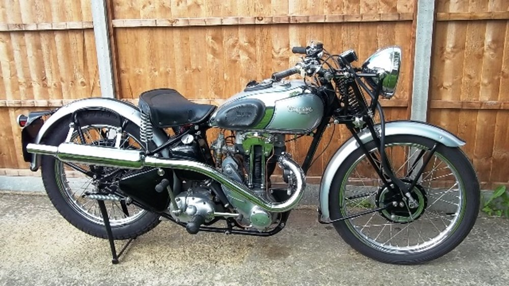 Lot 273 - 1939 Triumph Tiger 70