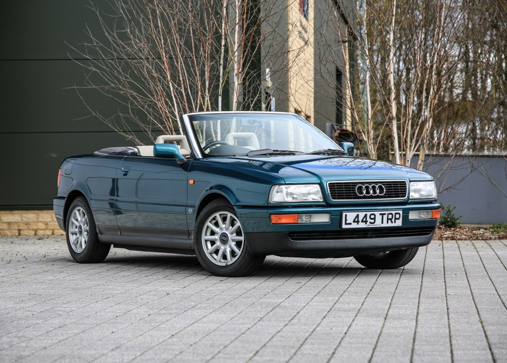 Lot 217 - 1994 Audi  Cabriolet (2.3 litre) Personal transport of Diana, Princess of Wales