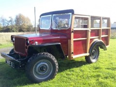 Navigate to Lot 310 - 1943 Willys Jeep 'Woodie' Stationwagon