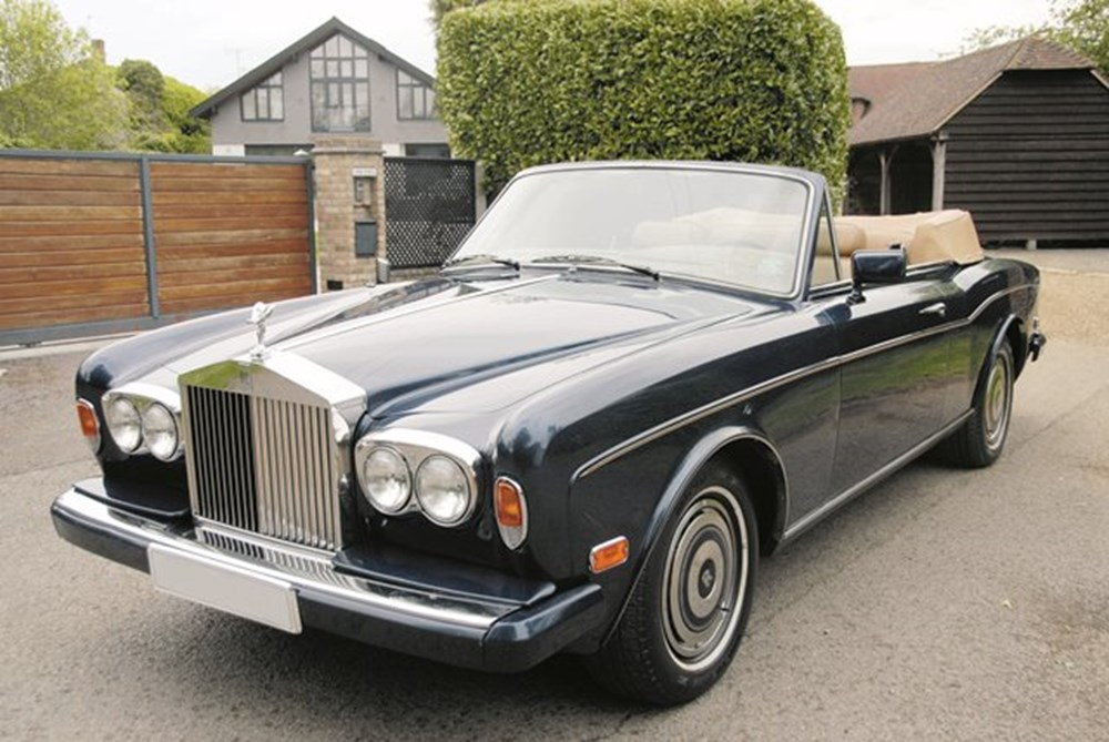 Lot 149 - 1985 Rolls-Royce Corniche Convertible Series II