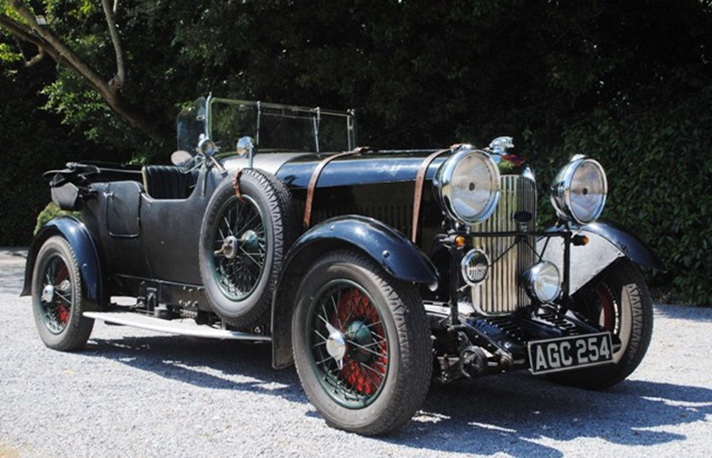 Lot 268 - 1933 12958 16/80 S-Type Special Six