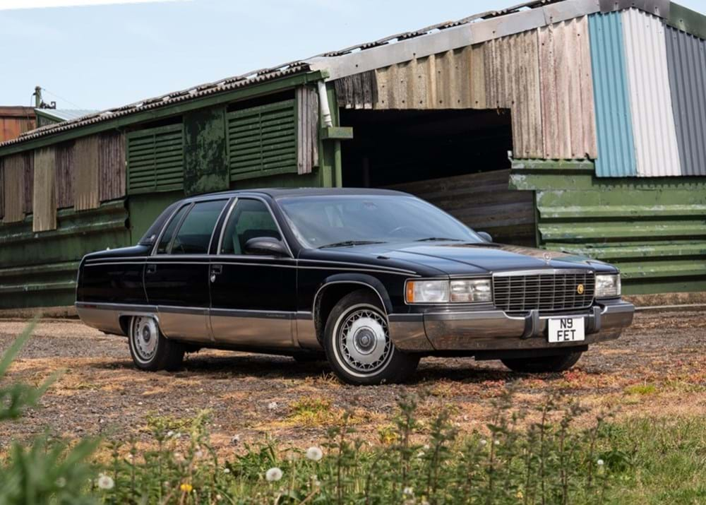 Lot 168 - 1996 Cadillac Fleetwood