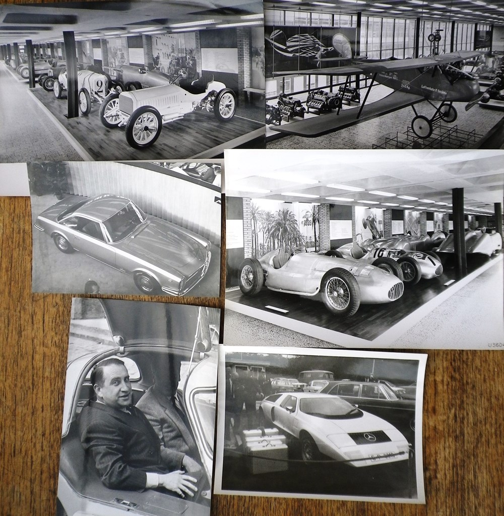 Lot 107 - Mercedes-Benz photos