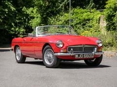 Navigate to Lot 192 - 1968 MG C Roadster