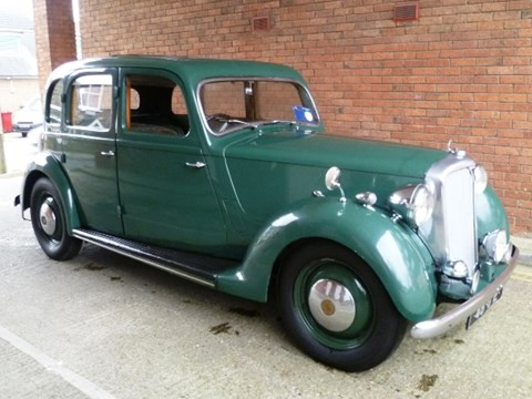 1948 Rover P3 75 Six light saloon