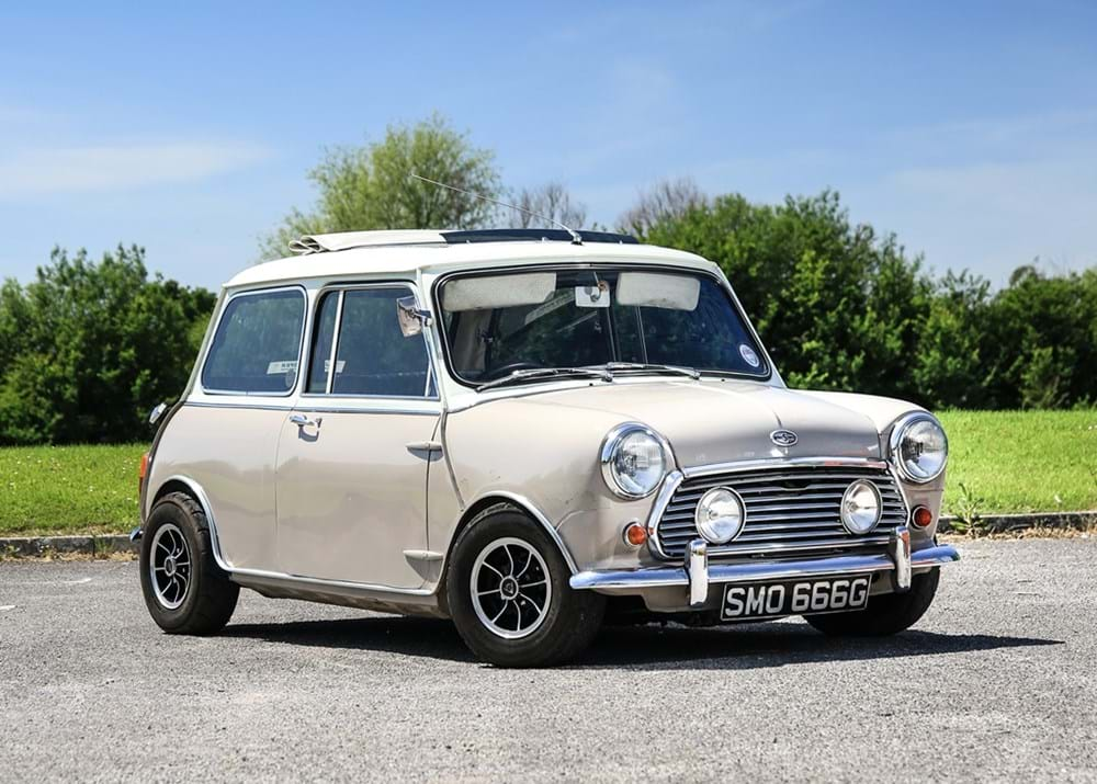 Lot 174 - 1969 Morris Mini Cooper 'S' Mk. II