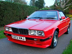 Navigate to Lot 228 - 1987 Maserati Bi-Turbo Spyder by Zagato