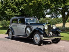 Navigate to Lot 126 - 1933 Rolls-Royce 20/25 Saloon by Lancefield