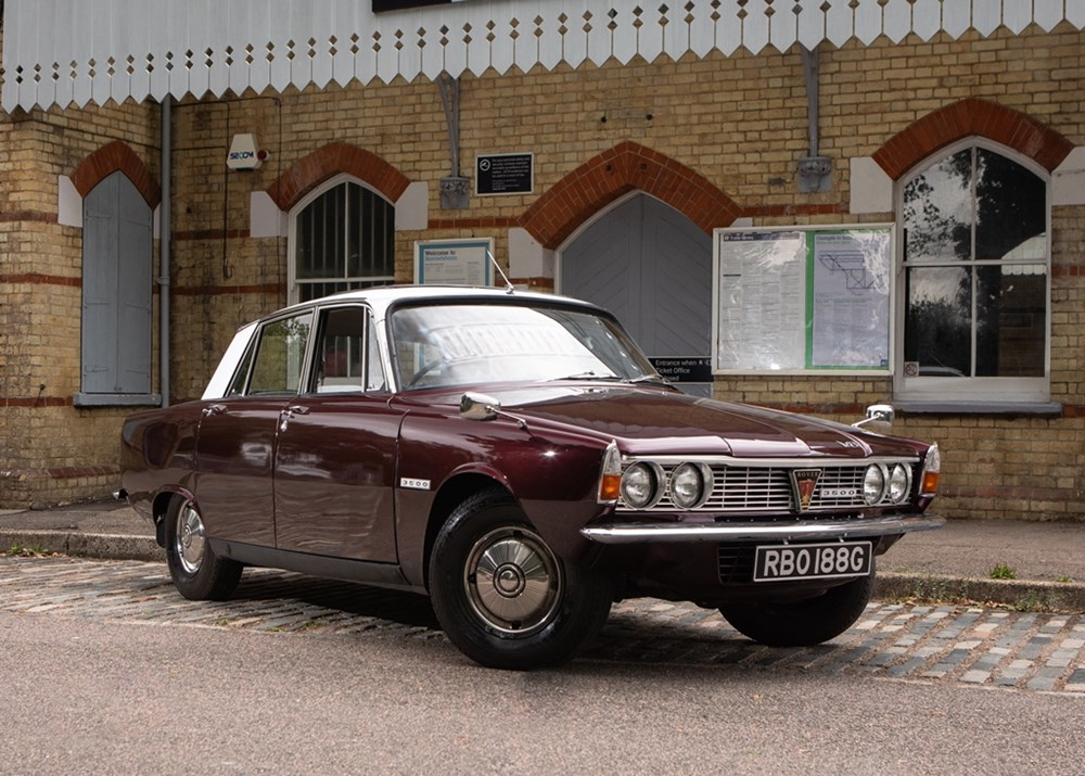 Lot 110 - 1968 Rover P6 Series I (3500cc)