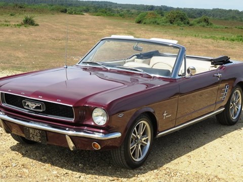 REF 69 1965 Ford Mustang Convertible (289ci)
