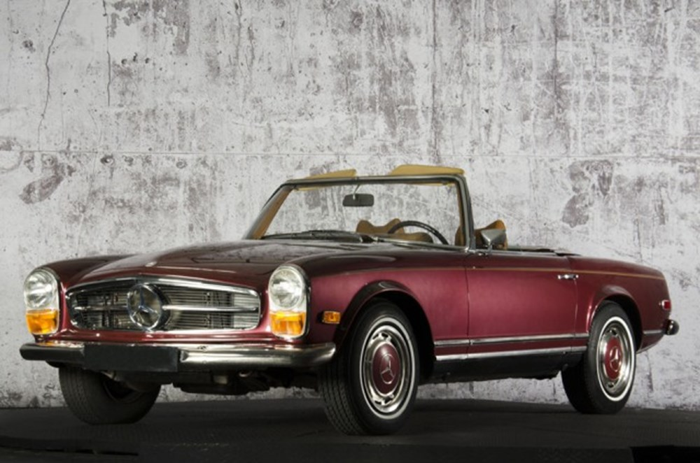 Lot 267 - 1970 Mercedes-Benz 280 SL Pagoda