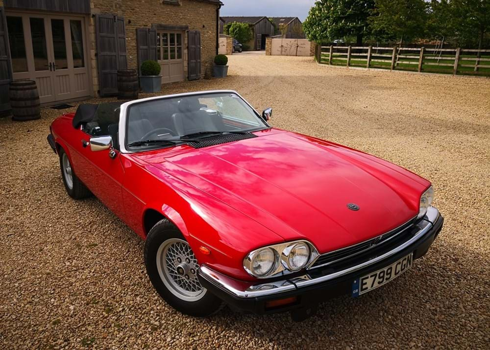 Lot 221 - 1988 Jaguar XJS Convertible (5.3 litre)