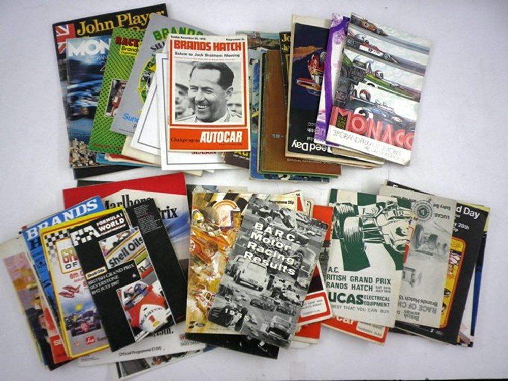 Lot 013 - 75 Motor Racing Programmes