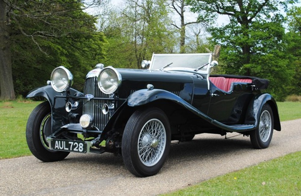 Lot 384 - 1933 Lagonda Three Litre, T7 Open Tourer