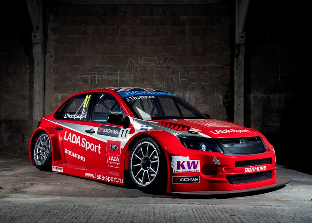 Lot 156 - 2014 Lada Granta FIA TC1 WTCC Works Factory Race Car