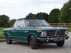 Navigate to Lot 128 - 1973 BMW 2002 Baur Cabriolet
