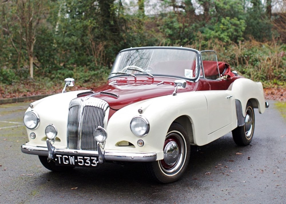 Lot 185 - 1956 Daimler Conquest Century Drophead Coupé