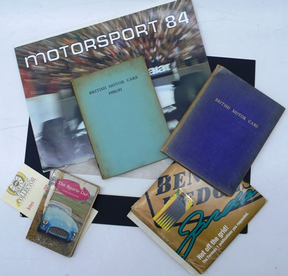Lot 012 - Motoring and motorsport items