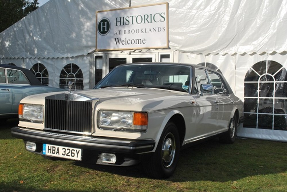 Lot 325a - 1982 Rolls-Royce Silver Spur - LATE ENTRY
