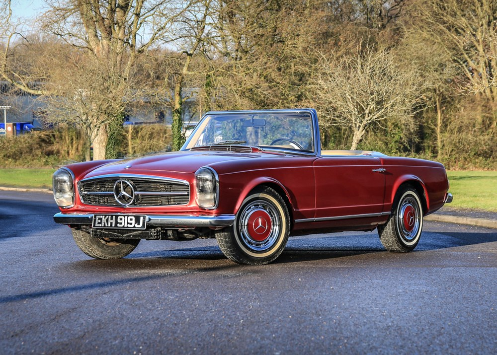 Lot 170 - 1971 Mercedes-Benz 280 SL Pagoda