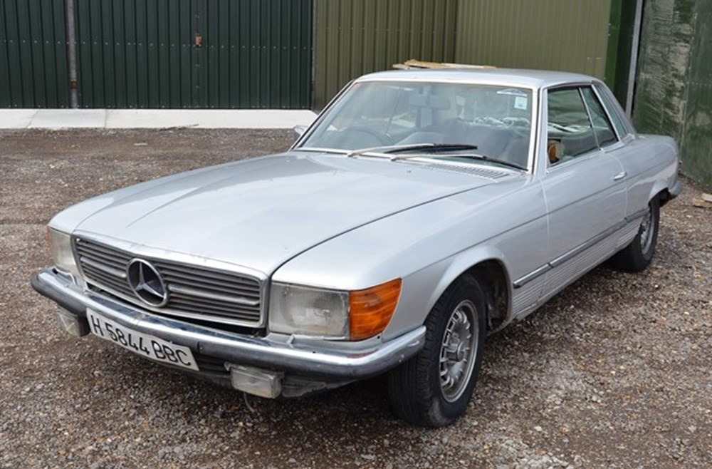 Lot 239 - 1975 Mercedes-Benz 450SLC