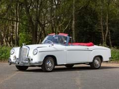 Navigate to Lot 187 - 1957 Mercedes-Benz 220S Cabriolet