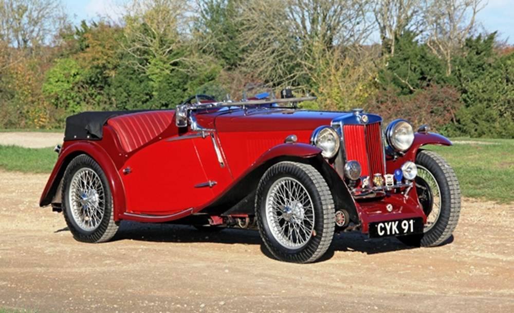 Lot 272 - 1936 MG NB Magnette