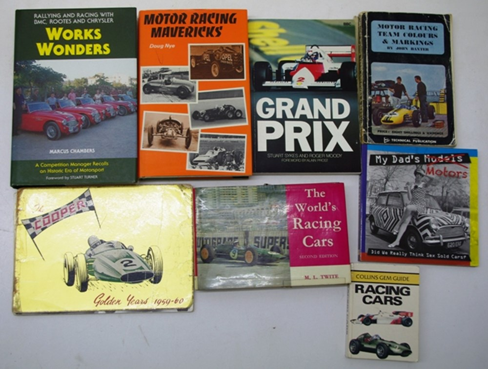 Lot 014 - Motor Sport Publications