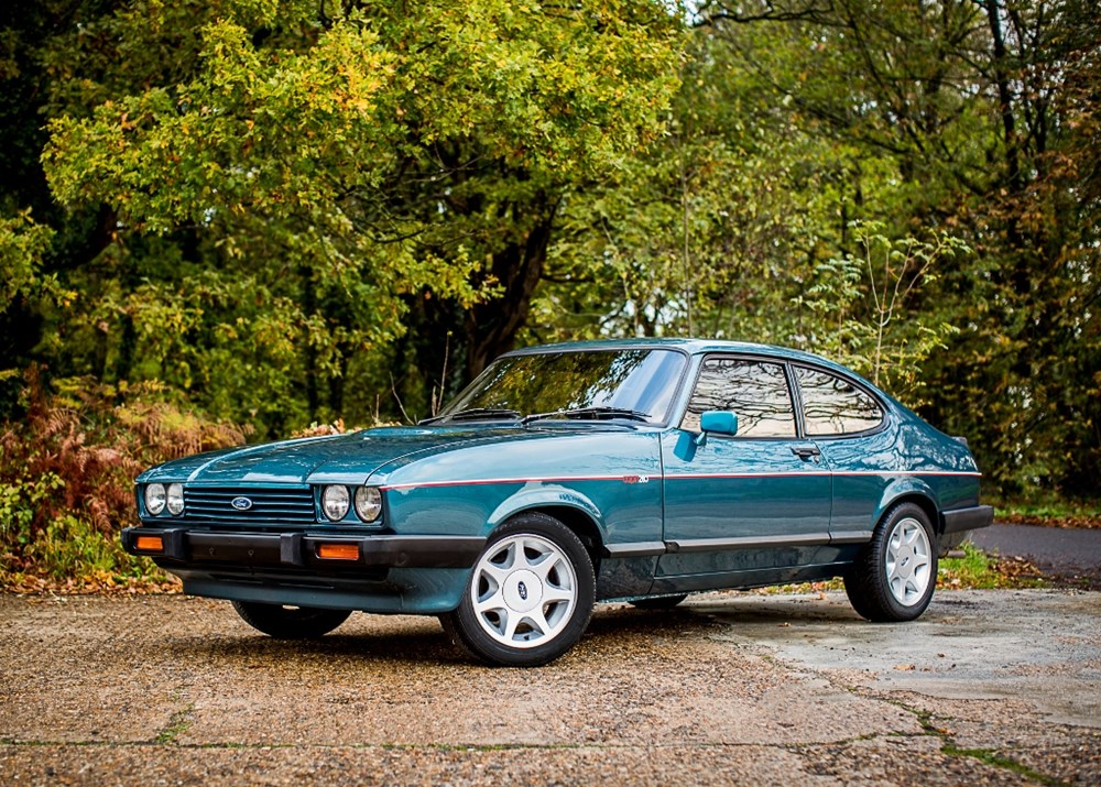 Lot 248 - 1987 Ford Capri 280 Brooklands