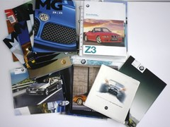 Navigate to Modern MG, Nissan and BMW brochures
