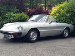 Navigate to Lot 226 - 1981 Alfa Romeo Spider Junior 1600 Series II 'Kamm tail'