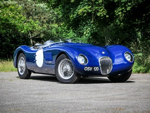 REF 20 1987 Jaguar C Type Recreation by Proteus