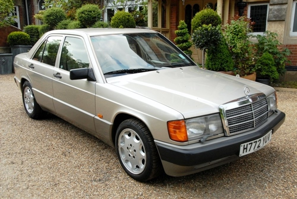 Lot 231 - 1991 Mercedes-Benz 190E Saloon