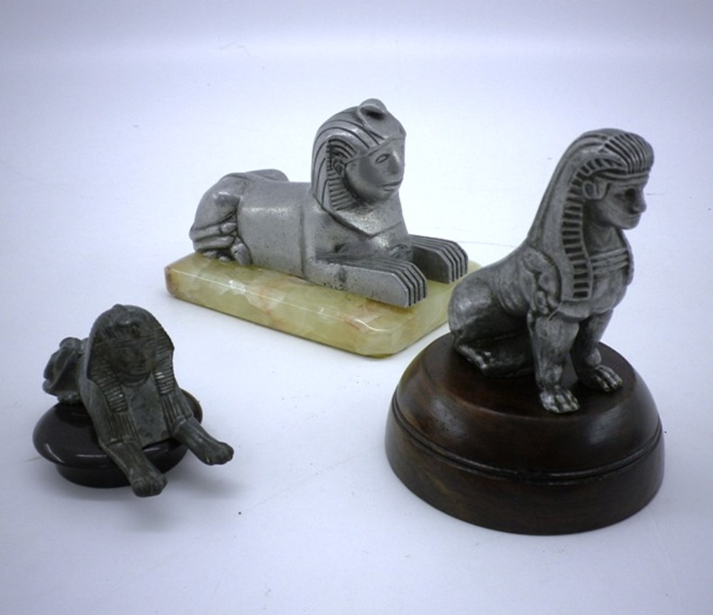Lot 86 - Armstrong Siddeley Sphinx mascots
